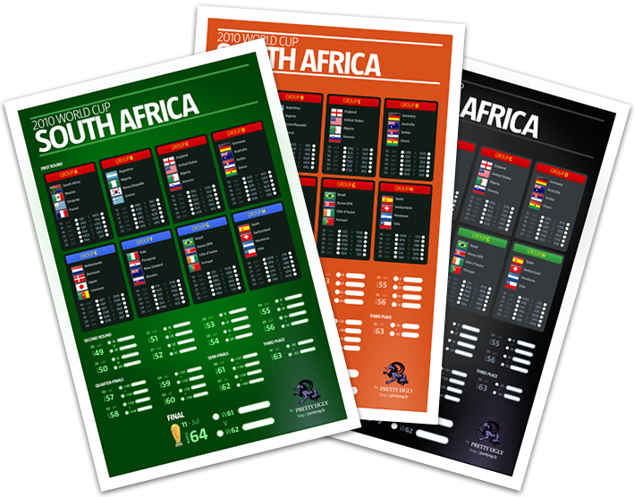 2010 World Cup Posters